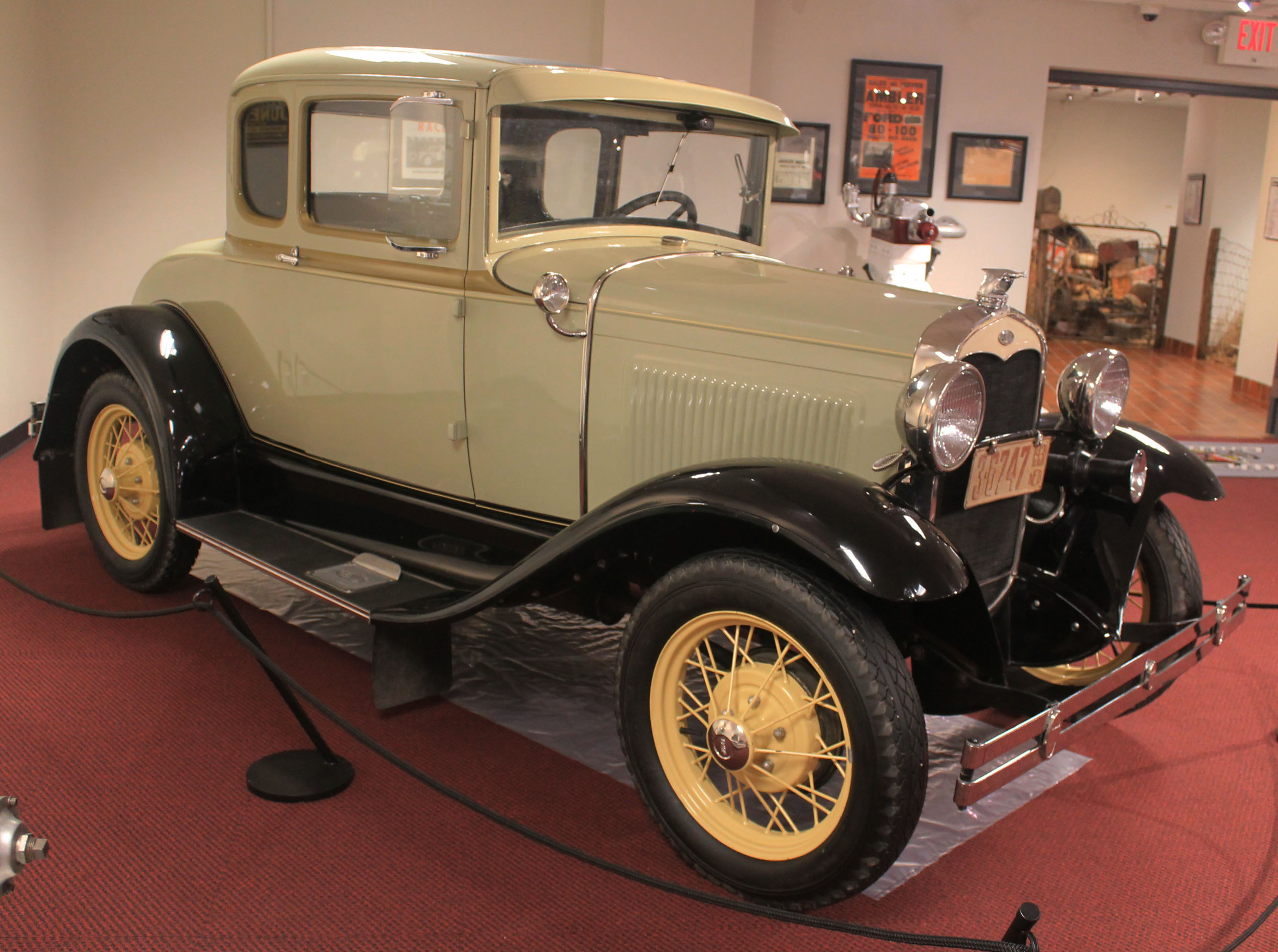 1931 Model A Coupe - Speedway Motors Museum of American Speed